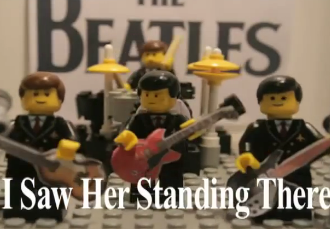 LEGO Beatles - i saw her standing there